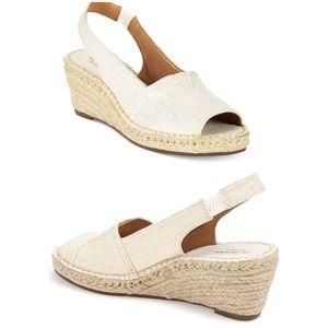 Clarks Petrina Rhea Espadrilles Wedges Sandals 8